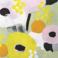 Servietten 24x24 cm - Mimosa
