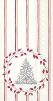 Buffet Servietten - Snowy Tree