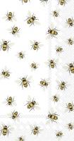Buffet Servietten - SAVE THE BEES! white