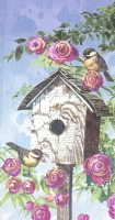 Buffet Servietten - LOVELY BIRDHOUSE