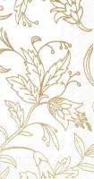 Buffet Servietten - GOLDEN FLOWER white gold