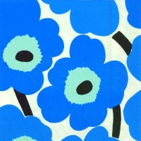 Servietten 25x25 cm - UNIKKO blue