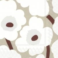 Servietten 25x25 cm - UNIKKO white linen