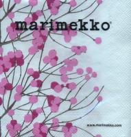 Servietten 25x25 cm - LUMIMARJA white pink