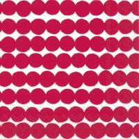 Servietten 25x25 cm - RÄSYMATTO red