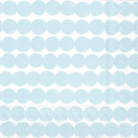 Servietten 25x25 cm - RÄSYMATTO light blue