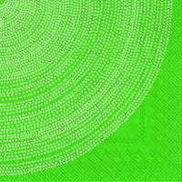 Servietten 25x25 cm - FOKUS grün