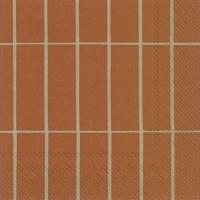 Servietten 25x25 cm - TIILISKIVI copper linen