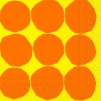 Servietten 25x25 cm - KIVET yellow