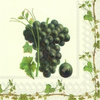 Servietten 25x25 cm - GRAPE HARVEST RED
