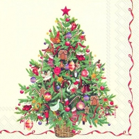 Servietten 25x25 cm - CHRISTMAS TREE