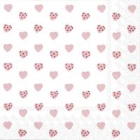 Servietten 25x25 cm - MY LITTLE SWEETHEART rose