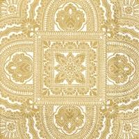 Servietten 25x25 cm - CLASSIQUE cream gold