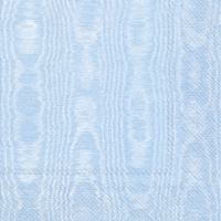 Servietten 25x25 cm - MOIREE light blue