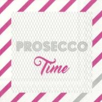 Servietten 25x25 cm - PROSECCO TIME pink