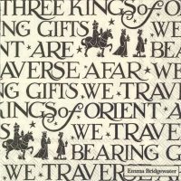 Servietten 25x25 cm - THREE KINGS schwarz