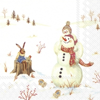 Servietten 25x25 cm - HAPPY WINTER DAY