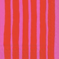 Servietten 25x25 cm - RAIDE rot rosa rosa