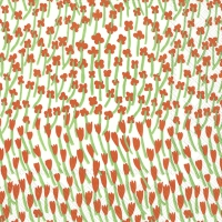 Servietten 25x25 cm - APILAINEN white red
