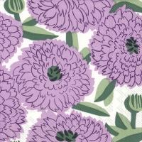 Servietten 25x25 cm - PRIMAVERA lilac