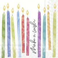 Servietten 25x25 cm - BIRTHDAY WISH