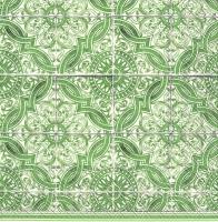 Servietten 25x25 cm - LORENZO green