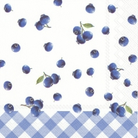 Servietten 25x25 cm - BLUEBERRY