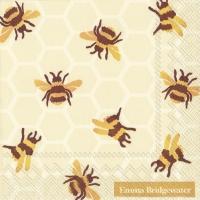 Servietten 25x25 cm - BUMBLE BEE