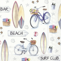 Servietten 25x25 cm - SURF CLUB