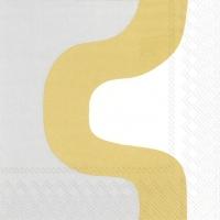 Servietten 25x25 cm - SEIREENI gold