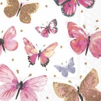 Servietten 25x25 cm - NATHALIE pink