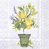 Servietten 25x25 cm - LEMON TREE