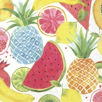 Servietten 25x25 cm - FRUITY FRUITS