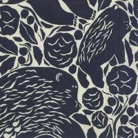 Servietten 25x25 cm - KARHUEMO linen black