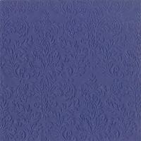 Servietten 33x33 cm - CAMEO UNI dark blue