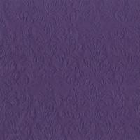 Servietten 33x33 cm - CAMEO UNI purple