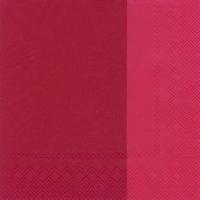 Servietten 33x33 cm - DOUBLO red