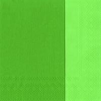 Servietten 33x33 cm - DOUBLO grün