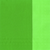 Servietten 33x33 cm - DOUBLO green