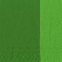 Servietten 33x33 cm - DOUBLO dark green