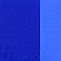 Servietten 33x33 cm - DOUBLO blue