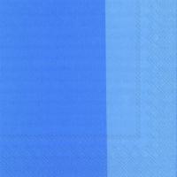 Servietten 33x33 cm - DOUBLO azure