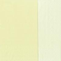 Servietten 33x33 cm - DOUBLO cream