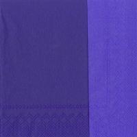 Servietten 33x33 cm - DOUBLO violet