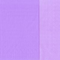 Servietten 33x33 cm - DOUBLO light lilac