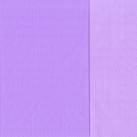 Servietten 33x33 cm - DOUBLO hellviolett