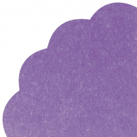 Servietten - Rund - UNI purple