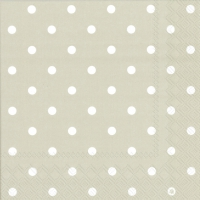 Servietten 33x33 cm - LITTLE DOTS linen
