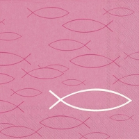 Lunch Servietten PEACEFUL FISH pink