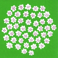 Servietten 33x33 cm - PUKETTI grün